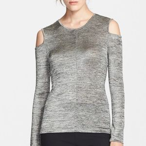 Rag & Bone Michelle Cold Shoulder Knit Top Small